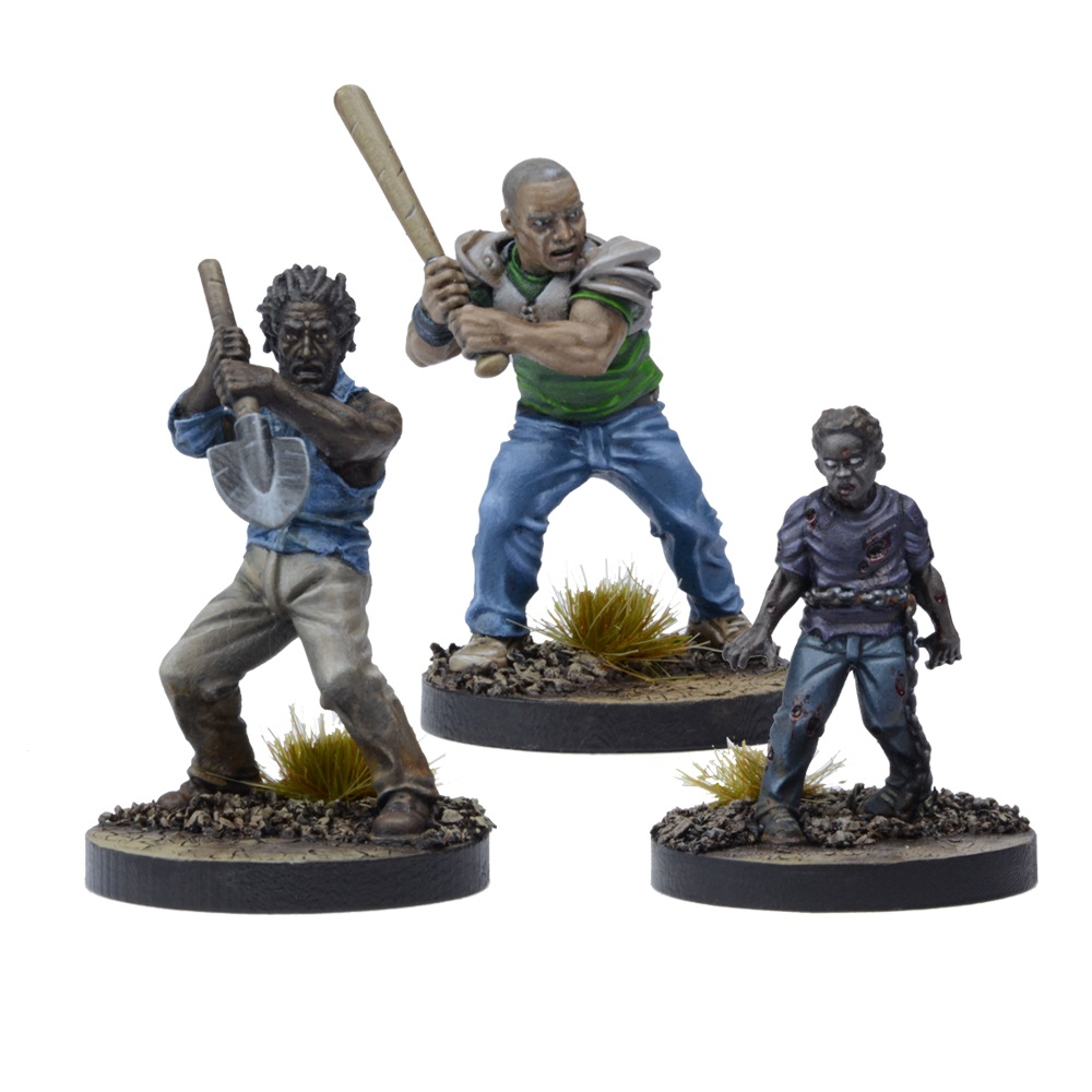 The Walking Dead All out War Miniatures Lilly Game Booster NEUF