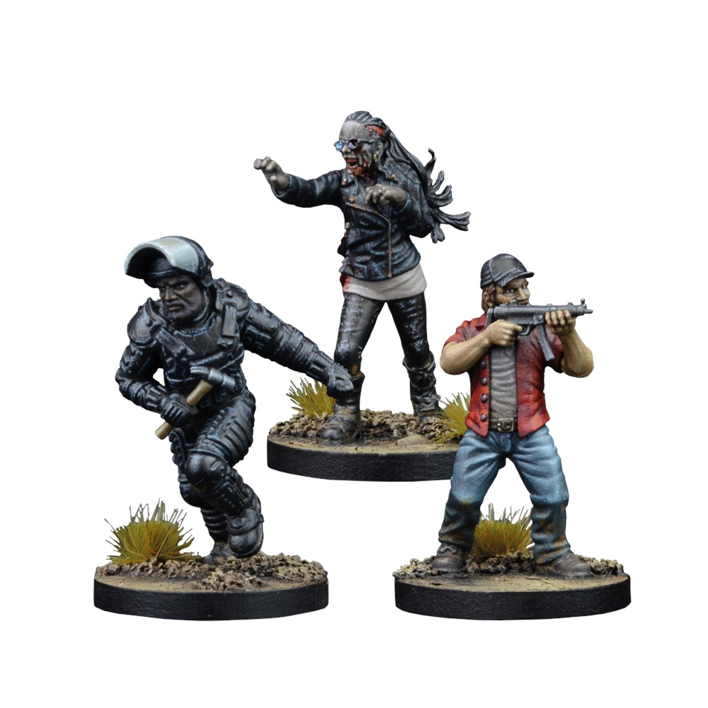 Mantic Games The Walking Dead All Out War Tyreese Prison Advisor Game Booster